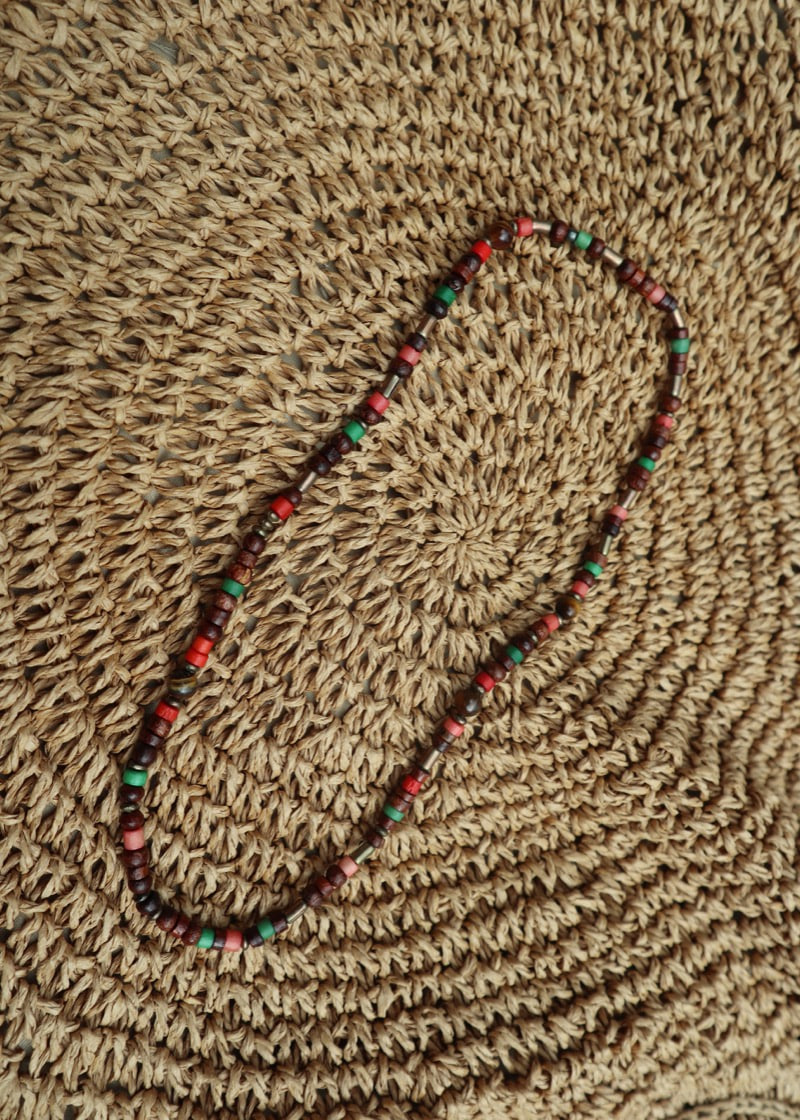 (handmade) wood beads necklace