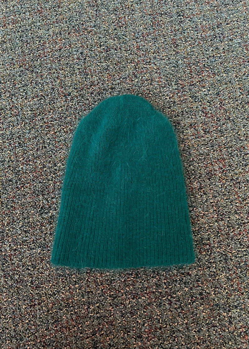 (New color!) angora beanie