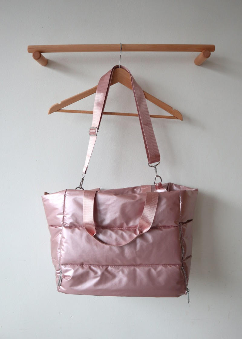 metallic padding bag