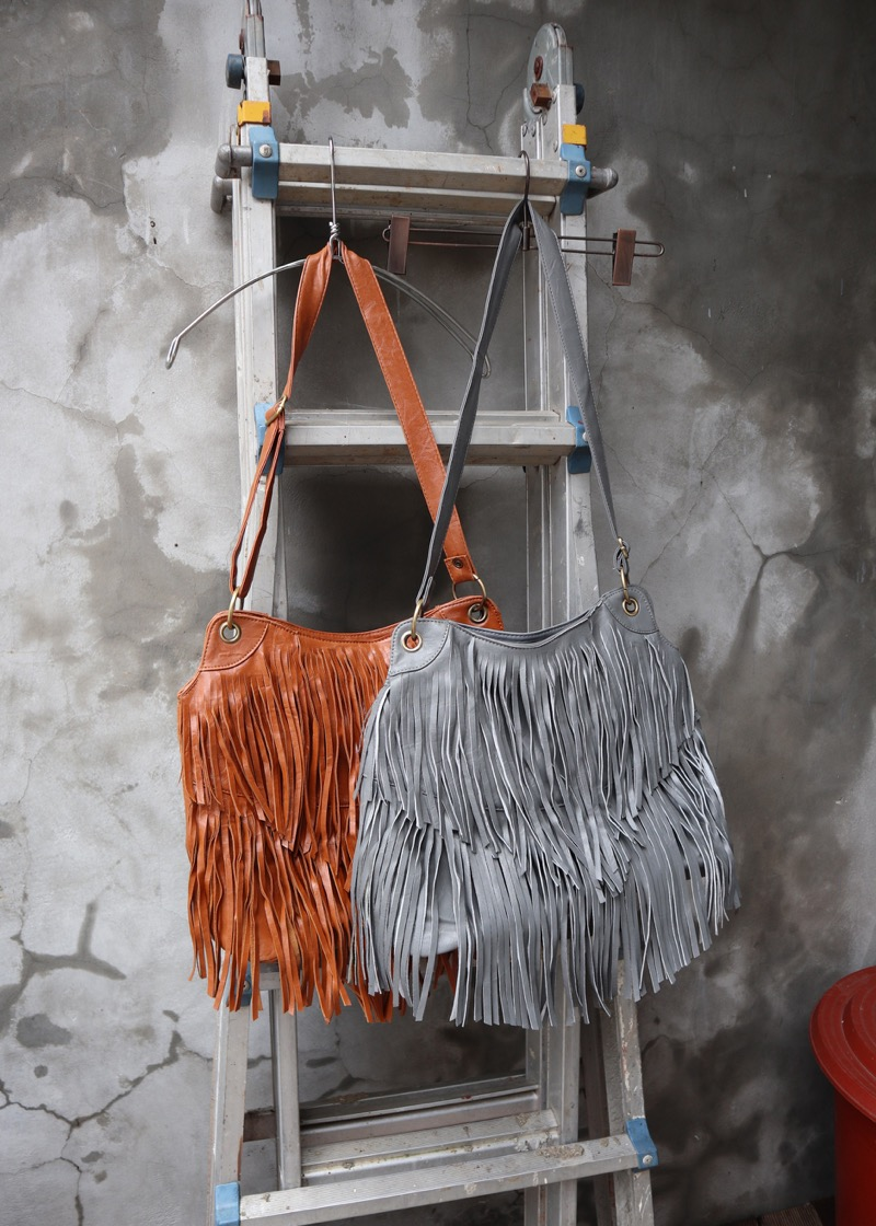 ethnic fringe bag