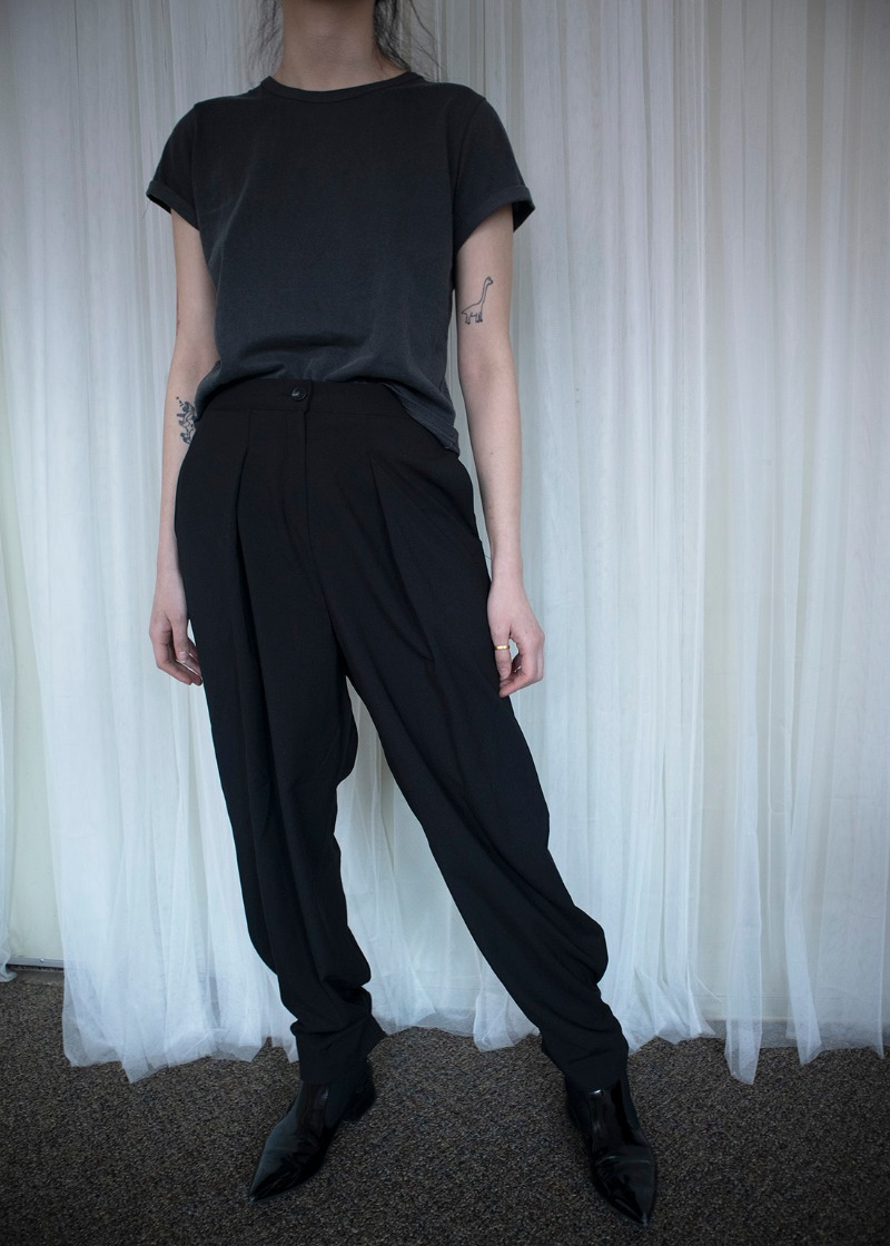2way button trousers